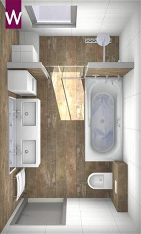 winzige badezimmer designs badeinrichtung ideen pflanzen graue bodenfliesen wei 223 e