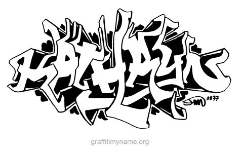 coloring pages of the name kate kathryn graffiti my name first names pinterest