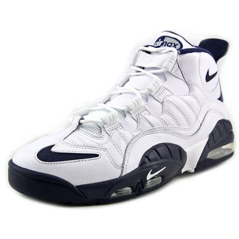 nike nike air max sensation leather white basketball