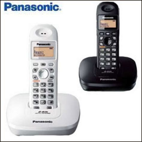 Telepon Wireless Panasonic Kx Tg6458bx 2 panasonic kx tg 3611 telepon wireless display