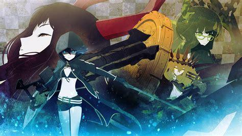black rock shooter tv anime news network аниме 171 стрелок с чёрной скалы 187 black rock shooter