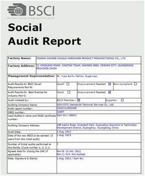 sle compliance audit report social audit report sle 28 images sle audit report