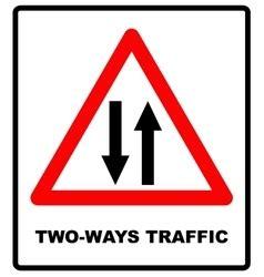traffic signs and symbols royalty free vector image