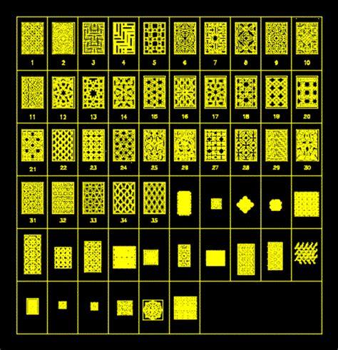 islamic pattern dwg free patterns ornamental dwgautocad drawing stalegrafika