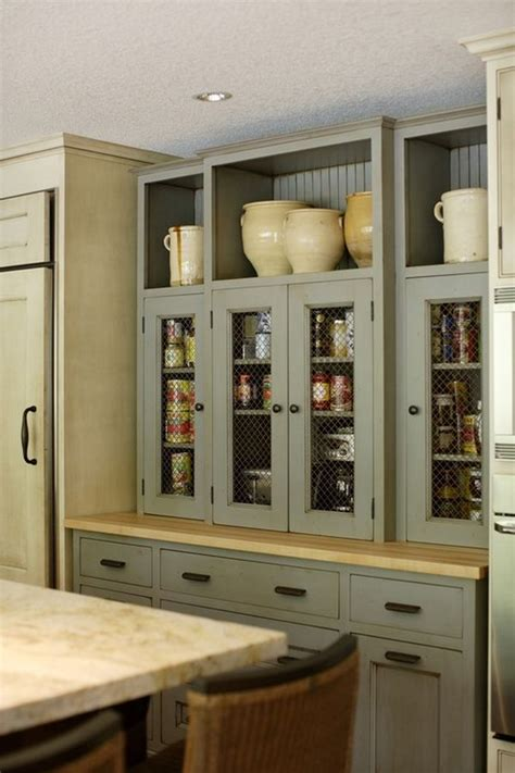 Chicken Wire Kitchen Cabinets 10 Ways To Use Chicken Wire In Your D 233 Cor This