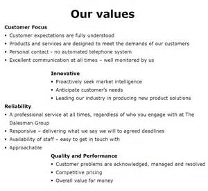 customer care charter template customer service charter the dalesman