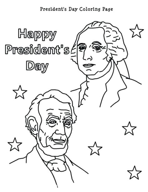excellent presidents day coloring pages printable 16 with