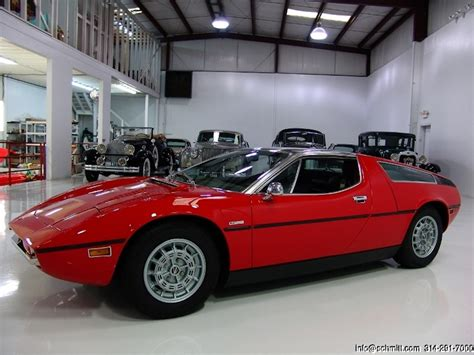 Car Of The Day Classic Car For Sale 1973 Maserati Bora