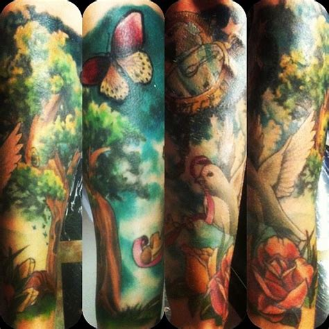nature tattoo sleeve 25 inspirational arm sleeves