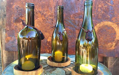 botellas de vino decoracion decoracion con botellas de vino