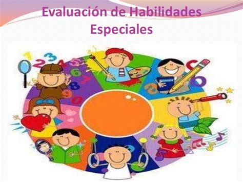 imagenes de habilidades artisticas evaluaci 243 n de habilidades especiales psi 211