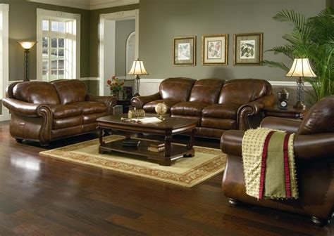 Living Room Ideas With Brown Leather Sofas 17 Best Ideas About Brown Leather Furniture On Leather Living Room Brown