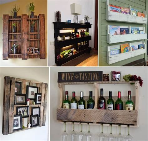 10 unique diy shelves for home storage diy and crafts creative pallet shelf designs for your home