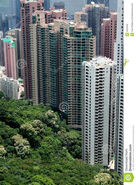 hong kong appartment hong kong appartments royalty free stock image image