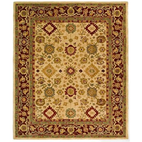 Kitchen Rugs 6ft by Safavieh Anatolia Ivory Brown 4 Ft X 6 Ft Area Rug