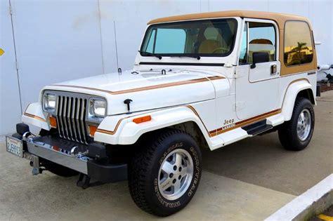 Jeep Wrangler Laredo 1988 Jeep Wrangler Laredo