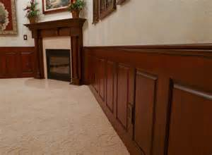 Dining Room Wainscoting Panels Mahogany Raised Panel Wainscoting Dining Room