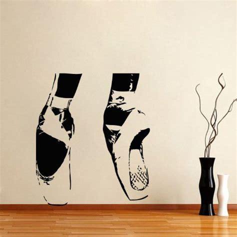 Ballerina Wall Mural Housewares Vinyl Decal Ballerina Ballet Home Wall Art