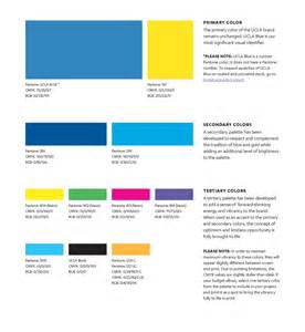 ucla colors brand colors ucla brand guidelines
