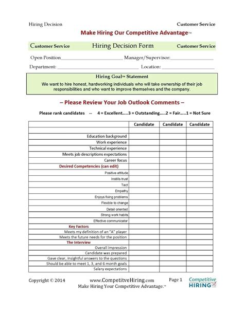 Competency Assessment Template Design Templates Employee Competency Assessment Template
