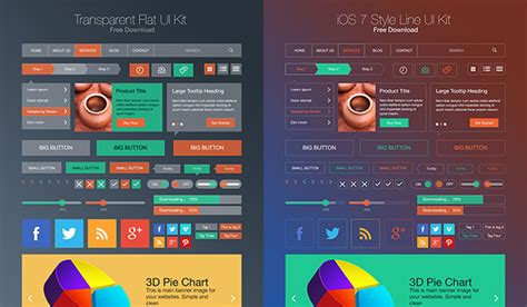 How To Get The Flat Ui Ios 7 Instagram App On Android | flat style ios 7 line style ui kit psd graphicsfuel