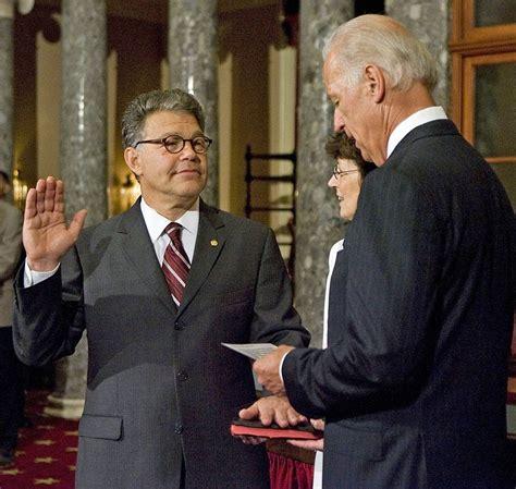 Al Franken Office by Franken Takes Oath Of Office Joins Senate The Current
