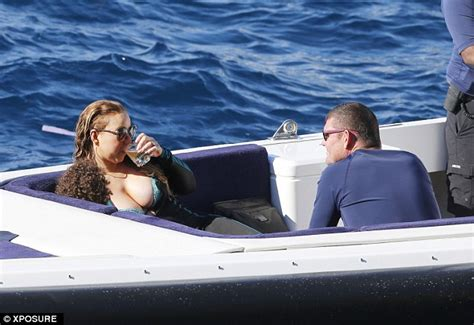 mariah boats website mariah carey suffers a nip slip in italy with james packer