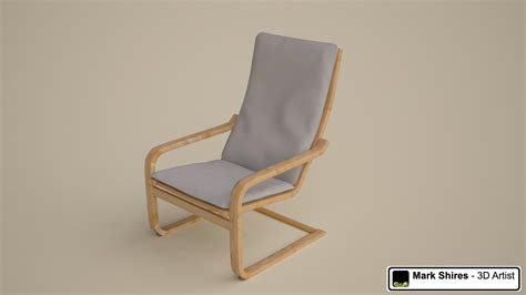Pello Armchair Review by 3d Model Of Poang Chair