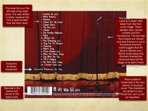 curtains song list curtain close eminem track list integralbook com
