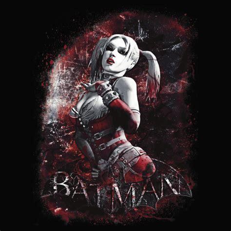 batman arkham city harley quinn t shirt