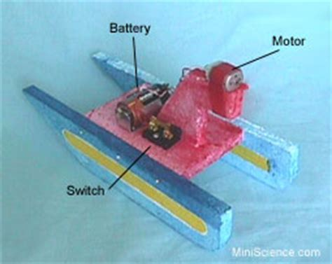 electric motor boat project information science project ideas information and support for science