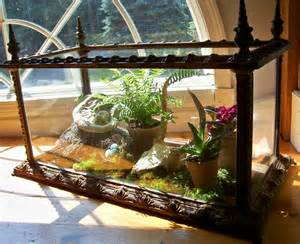 late 1800 s cast iron aquarium terrarium j w fiske victorian display case omero home
