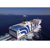 The GNV Fleet Grandi Navi Velocis Ferries