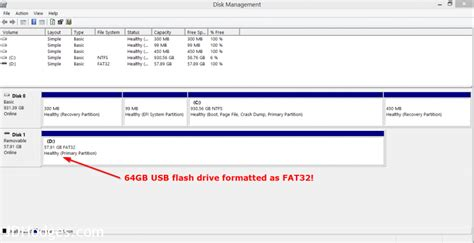 format 64gb to fat32 format fat32 on 64gb 128gb 256gb usb flash drives on windows