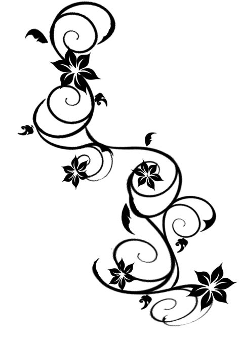 awesome flower tattoo designs 24 awesome vine designs