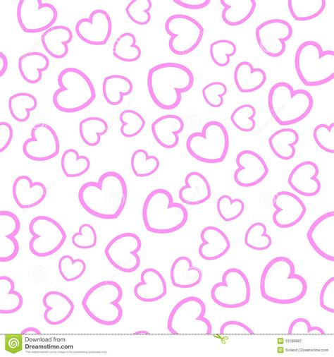 seamless heart pattern vector seamless heart pattern royalty free stock photography