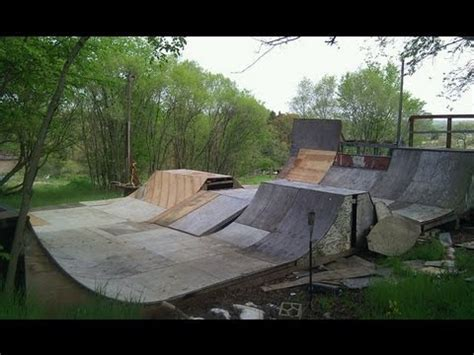 backyard skate park my backyard skatepark 2012 youtube