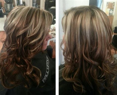 blonde highlights with caramel lowlights pinterest the world s catalog of ideas