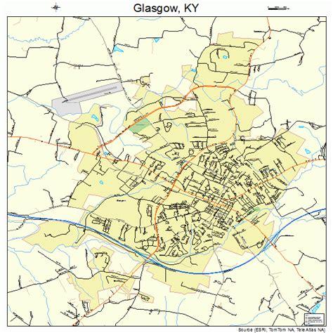 kentucky map glasgow glasgow kentucky map 2131114