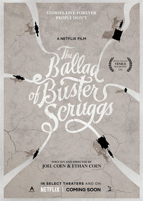 Trailer for Coen Bros' Western Anthology 'The Ballad of ... O Brother, Where Art Thou Movie Poster