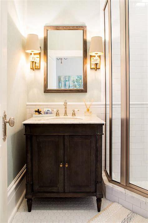 bathroom vanity with marble top espresso bathroom vanity with white marble top
