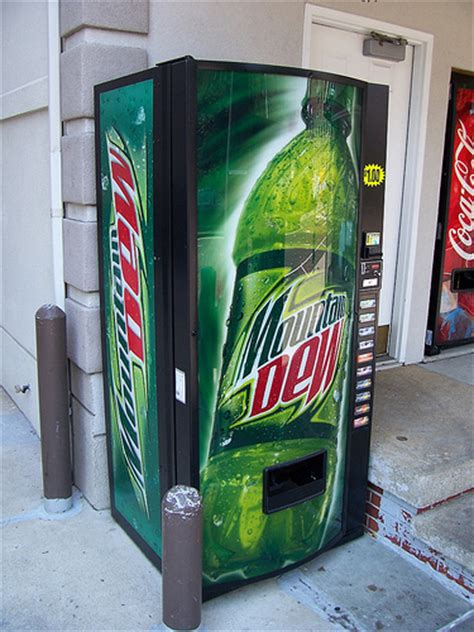 mountain dew vending machine modern mountain dew vending machine a photo on flickriver