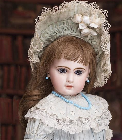 very beautiful in french 24 quot 61 cm antique french very beautiful french bisque bebe jumeau from respectfulbear on