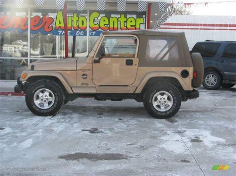 desert jeep wrangler 1999 desert sand pearlcoat jeep wrangler sahara 4x4