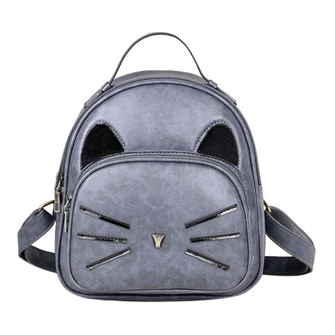 cat backpack cat backpack pu leather backpack cat