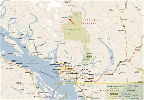 map of whistler canada whistler columbia maps of whistler bc