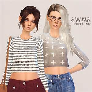 Home Decor Top Websites pure sims cropped sweater sims 4 downloads