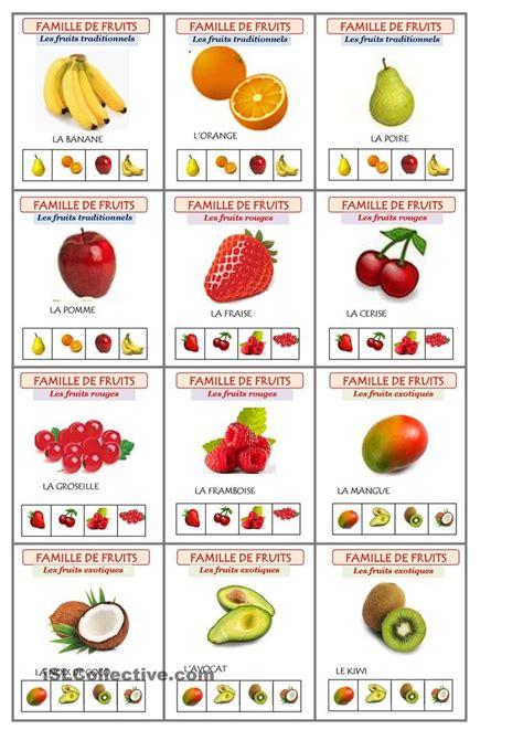 section 304a jeu les sept familles de fruits fruit familles et jeu