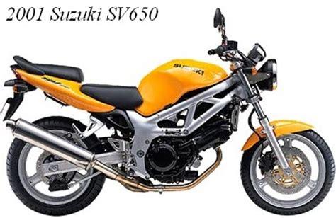 Suzuki Sv 250 2001 Suzuki Sv650 Motorcycles And 250