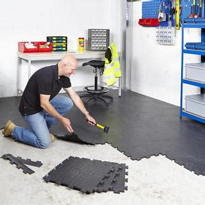 vinyl floor garage interlocking vinyl floor tiles flooring heavy duty garage schools workshop ebay